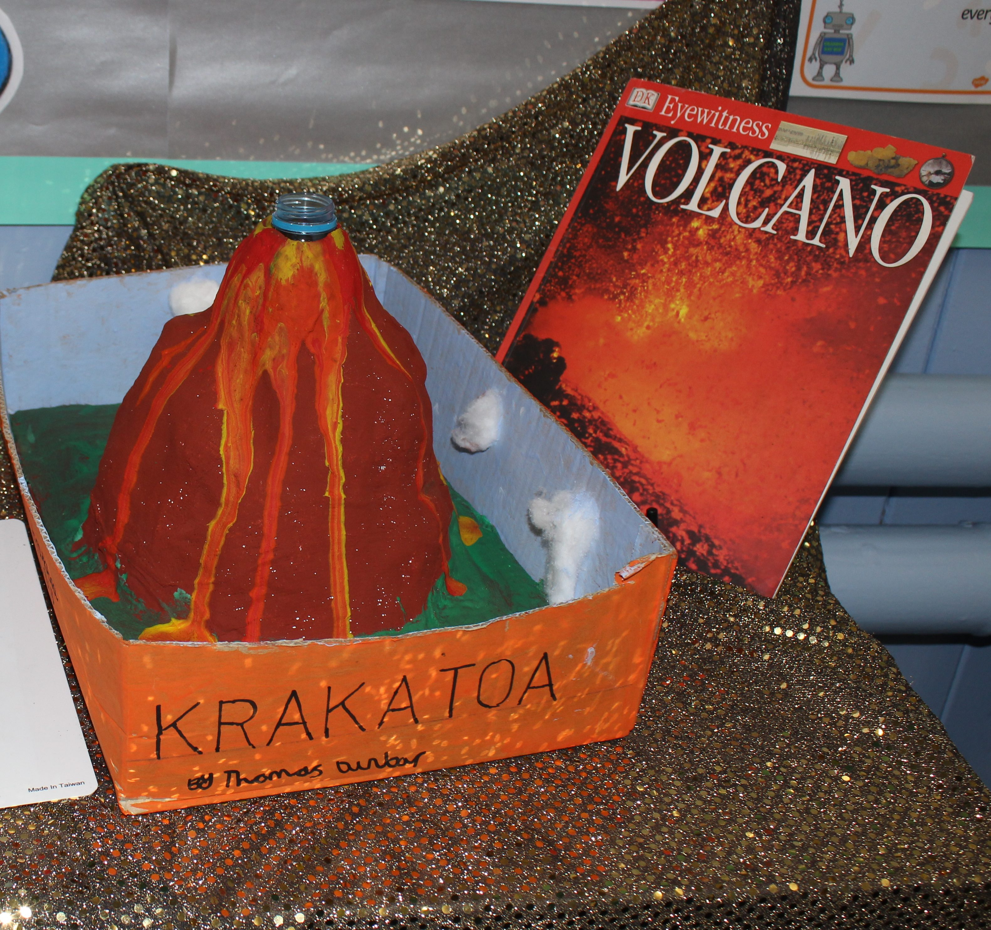 volcano project From sparkly explosions to ketchup lava, here are seven creative ways you can take your volcano science project to the next level.